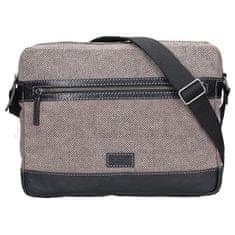Lagen Pánská taška přes rameno 22406 Black/Beige