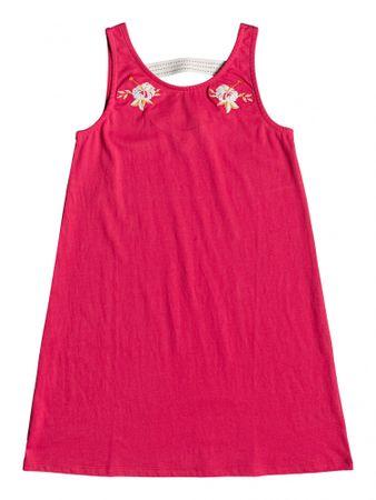 Roxy dekliška obleka Leaves Movement, 128, rdeča