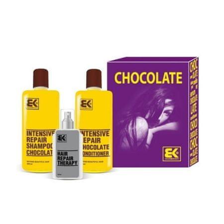 Brazil Keratin Zestaw podarunkowy do włosów suchych i zniszczonych Chocolate