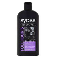 Syoss Šampón pre rednúce vlasy bez objemu Full Hair 5 (Shampoo) 500 ml