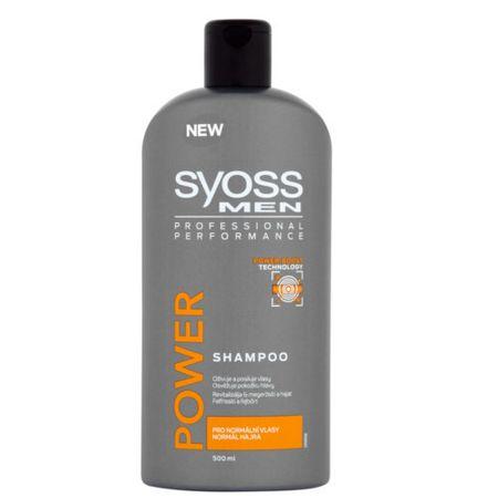 Syoss Šampón pre mužov Power (Shampoo) 500 ml