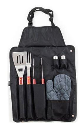 G21 oprema za roštilj, 6 dijelova u visećem džepu