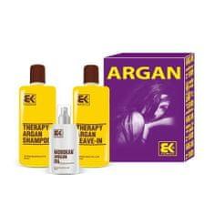 Brazil Keratin Zestaw podarunkowy do włosów suchych i zniszczonych Argan