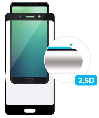 Fixed szkło hartowane Full-Cover do Huawei Y5 (2018), klejone na cały ekran, czarne 0,33 mm FIXGFA-307-BK