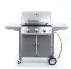 G21 Oklahoma gáz grill, BBQ Premium Line 3 égő + szabad áramlásszabályozó