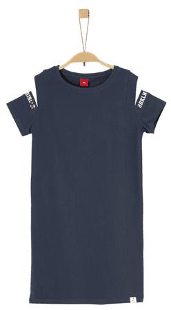 s.Oliver lány ruha 134 kék