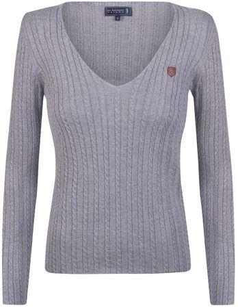 Sir Raymond Tailor ženski pulover Stones, XL, siv