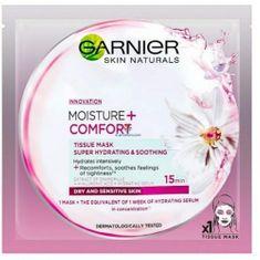 Garnier Moisture + Comfort textilmaszk 32 g