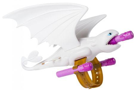 Spin Master Így neveld a sárkányodat 3. csukló ágyú - Fehér sárkány