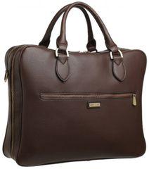 Bobby Black pánska hnedá taška