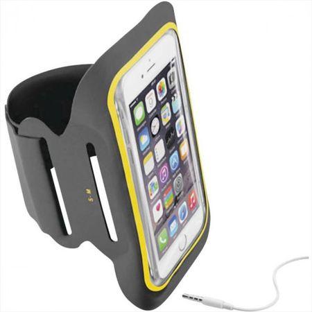 CellularLine športna torbica ARMBANDFIR52K za telefon, črna