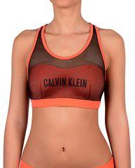 Calvin Klein Sportovní plavková podprsenka Bralette KW0KW00236 Hot Coral