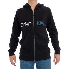 Calvin Klein Férfi teljes cipzáras csuklya Hood Black NM1609E-001