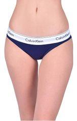 Calvin Klein Dámske nohavičky Bikini Shilo blue QF4654E-XS6