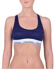 Calvin Klein Sportovní podprsenka Unlined Bralette Shilo Blue QF4638E-XS6