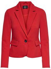 ONLY Dámsky blejzer Kira L/S Fitted Blazer Tlr Mars Red