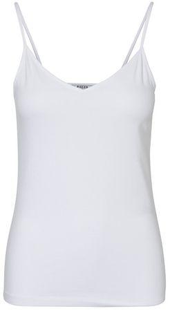 Pieces Dámské tílko Sirene Singlet Bright White (Velikost S)