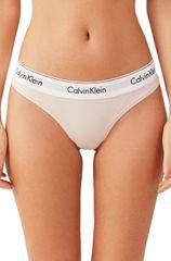 Calvin Klein Dámské kalhotky Thong F3786E-2NT