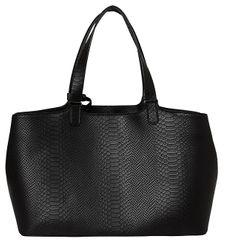 Pieces Dámská kabelka Brooke Shopper Bag Black