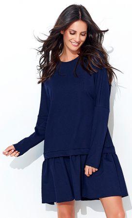 Numinou dámské šaty 40 tmavě modrá