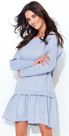 Numinou dámské šaty 40 šedá