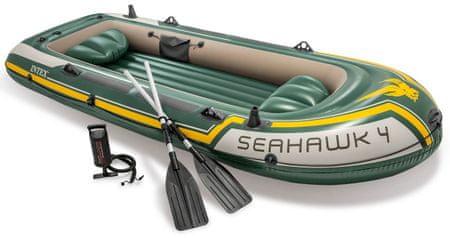 Intex Seahawk 4 csónak két üléssel