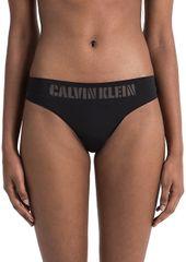 Calvin Klein Bugyi tanga QF4068E-001 Fekete