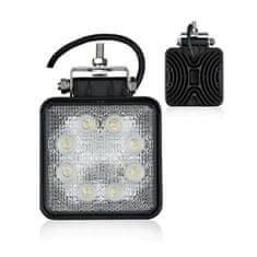 Automax delovna LED luč 10V -30V, kvadratna