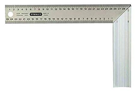 Stanley stolarski kutomjer, 400x200 mm, (1-45-687)