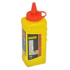 Stanley kreda za označavanje crvena, 225 g, (1-47-804)