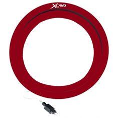 XQMax Darts Sirius LED osvetlenie sisalového terča sa surroundem - červený