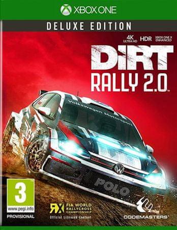 Codemasters igra DiRT Rally 2.0 - Deluxe Edition (Xbox One)