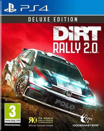 Codemasters igra DiRT Rally 2.0 – Deluxe Edition (PS4) – datum izlaska 22.02.2019
