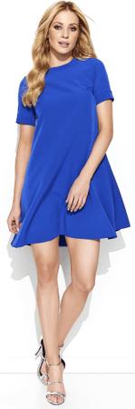 Makadamia dámské šaty 42 modrá