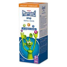 Marťánci s Imunactivem sirup příchuť pomeranč 150 ml