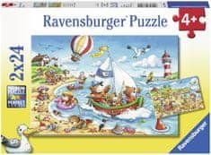 Ravensburger Nyaralás a tengernél 2x24 db