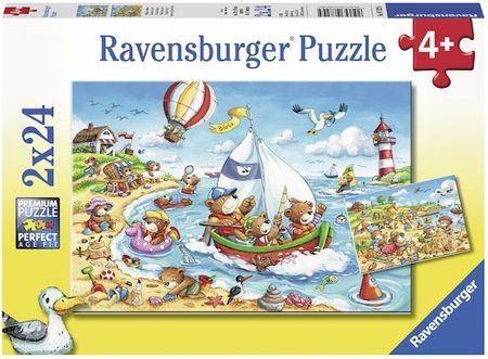 Ravensburger Wakacje nad morzem 2x24 części