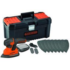 Black+Decker vibracijska brusilica Mouse 120W (KA2000KA10)