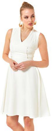 AUDEN CAVILL dámské šaty XL bílá