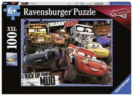Ravensburger Disney Auta 3 W błocie 100 części