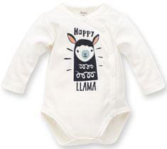 PINOKIO dětské zavinovací body Happy Llama