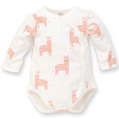 PINOKIO kopertowe body dziecięce Happy Llama