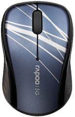 Rapoo bežični optički miš 3100P, 5GHz plavi