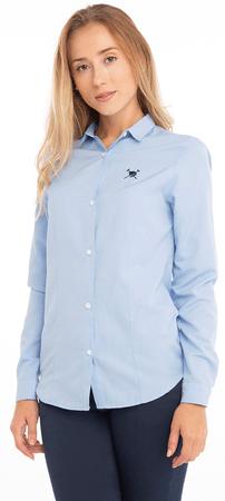 AUDEN CAVILL koszula damska M jasnoniebieska