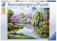 Ravensburger Pohled na jezero 500 dílků