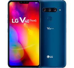 LG mobilni telefon V40 ThinQ, plavi