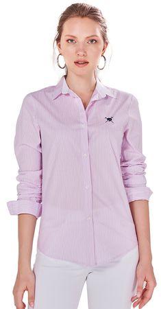 AUDEN CAVILL dámská košile S růžová
