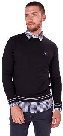 AUDEN CAVILL muški pulover, L, crni