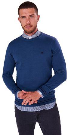 AUDEN CAVILL moški pulover, M, moder