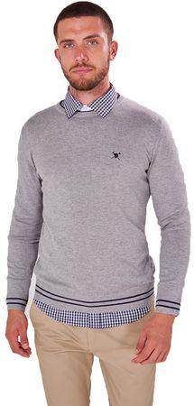 AUDEN CAVILL muški pulover, L, sivi